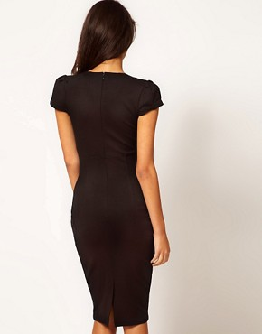 Image 2 ofASOS Sexy Pencil Dress with Pockets
