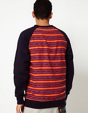 DRMTM Crew Sweatshirt Aztec Back