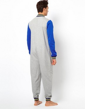 Image 2 ofRiver Island Varsity Onesie