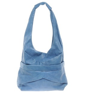 Image 1 ofOasis Leather Slouch Shopper Bag