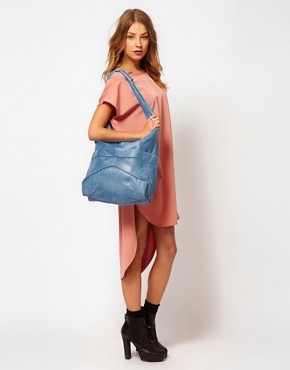 Image 3 ofOasis Leather Slouch Shopper Bag