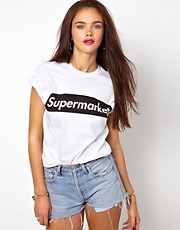 Camiseta Supermarket de Brashy Couture