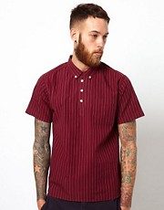 YMC Overhead Shirt with Pinstripe