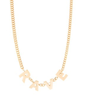 Image 1 ofASOS Rave Necklace