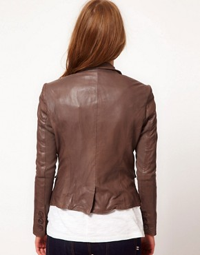 Image 2 ofMuubaa Leather Futura Jacket
