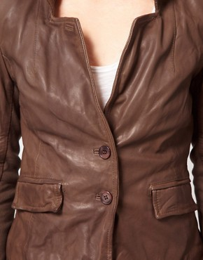 Image 3 ofMuubaa Leather Futura Jacket