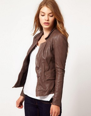 Image 1 ofMuubaa Leather Futura Jacket
