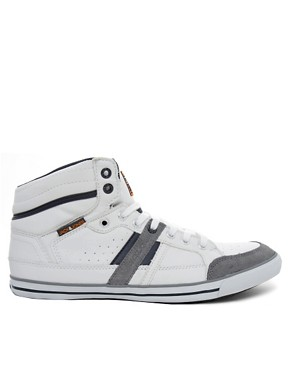 Image 4 ofJack &amp; Jones Brandon Hi-Top Trainers