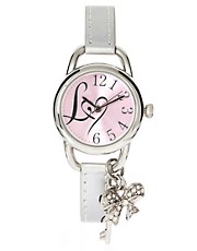 Lipsy Pink Strap Ladies Watch