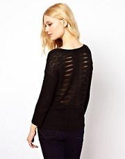 River Island Ladder Back Jumper