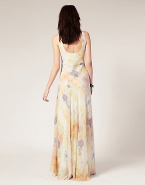 Image 2 ofGestuz Silk Tie Dye Maxi Dress