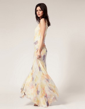 Image 4 ofGestuz Silk Tie Dye Maxi Dress