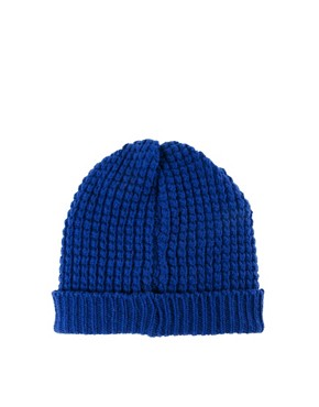 Image 2 ofPeter Jensen Waffle Knit Hat
