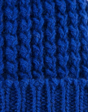 Image 3 ofPeter Jensen Waffle Knit Hat