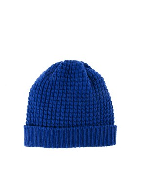 Image 4 ofPeter Jensen Waffle Knit Hat