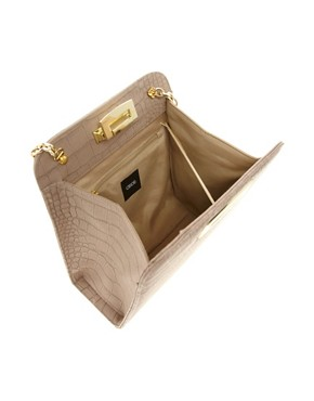 Image 2 ofASOS Flip Lock Chain Handle Bag