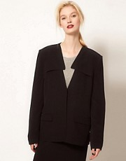 BACK by Ann-Sofie Back Jacket with Yoke Collar