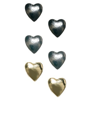 Image 1 ofPieces Catinka Heart Earring Pack