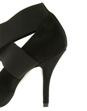 Image 3 ofASOS PACEY High Heels with Metal Toe Cap