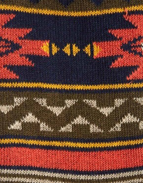 Image 3 ofASOS Aztec Pattern Socks