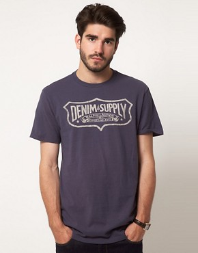 Image 1 of Denim & Supply by Ralph Lauren Shield Logo T-Shirt