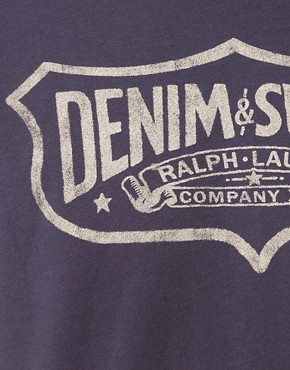 Image 3 of Denim & Supply by Ralph Lauren Shield Logo T-Shirt