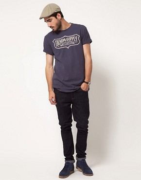 Image 4 of Denim & Supply by Ralph Lauren Shield Logo T-Shirt