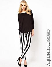 ASOS Maternity Legging in Stripe