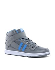 Crosshatch Knotty Hi-Top Trainers