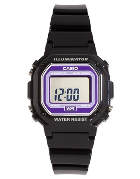 Image 1 ofCasio F-108WHC-6AEF Digital Black Strap Watch