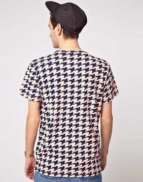 Image 2 of Self Houndstooth T-Shirt