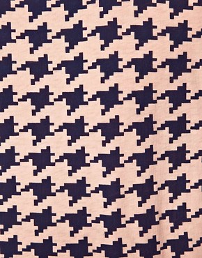 Image 3 of Self Houndstooth T-Shirt