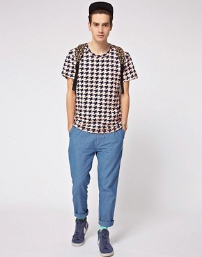 Image 4 of Self Houndstooth T-Shirt