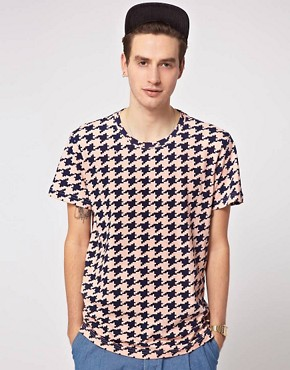 Image 1 of Self Houndstooth T-Shirt