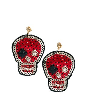 Image 1 ofLimited Edition Skull Earring