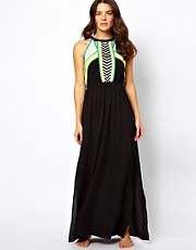River Island Micha Maxi Beach Dress