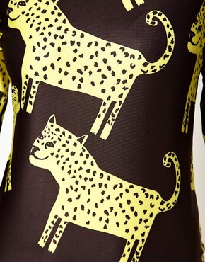 Image 3 of Lazy Oaf Exclusive Leopards Body-Conscious Dress