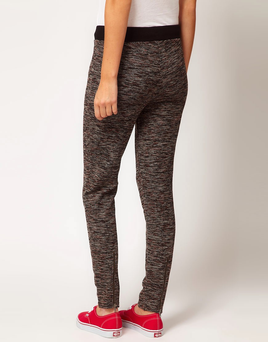 Image 2 of ASOS Joggers with Zip Detail