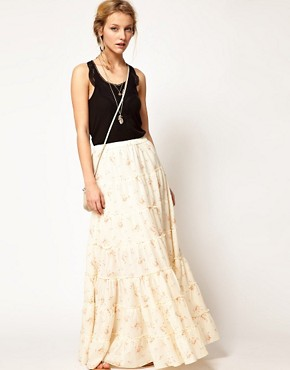 Image 1 ofDenim &amp; Supply By Ralph Lauren Maxi Skirt