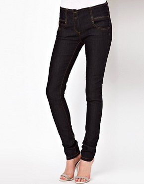Image 1 ofASOS Super Sexy Skinny Jeans in Dark Indigo