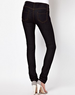 Image 2 ofASOS Super Sexy Skinny Jeans in Dark Indigo