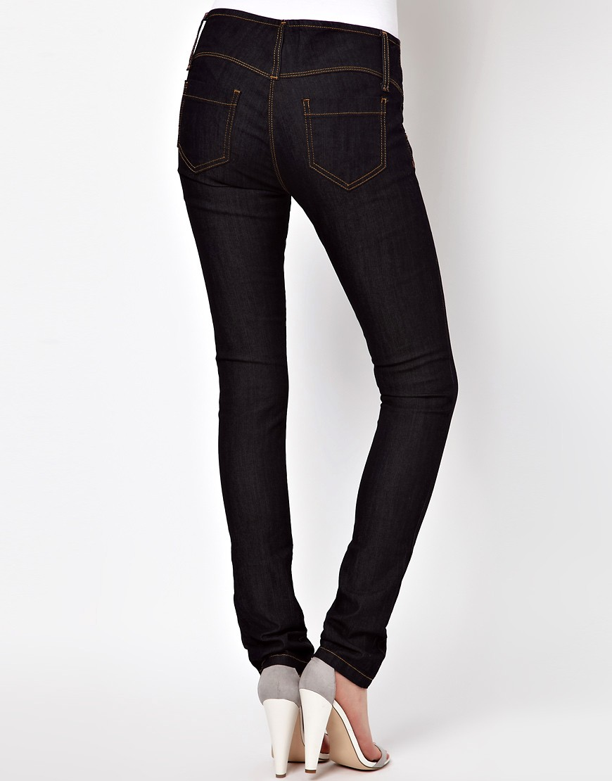 Image 2 of ASOS Super Sexy Skinny Jeans in Dark Indigo
