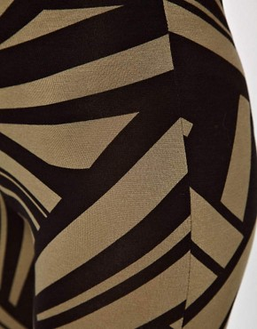 Image 3 ofASOS Leggings in Tribal Print