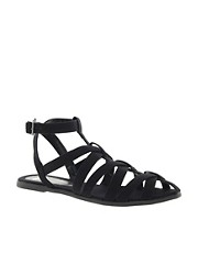 ASOS FALCON Gladiator Flat Sandals