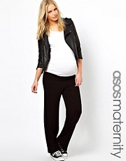 ASOS Maternity Exclusive Fold Over Lounge Pants
