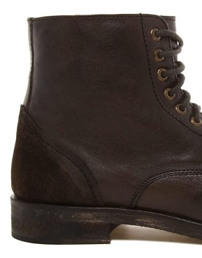 Image 2 ofFrank Wright  Leather Military Boots