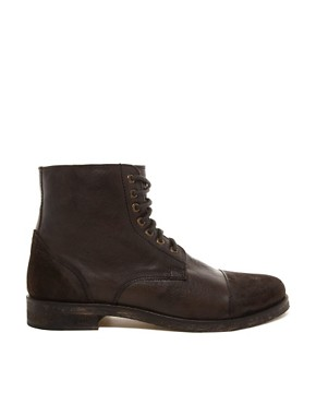 Image 4 ofFrank Wright  Leather Military Boots