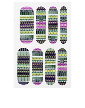 Image 4 ofNail Rock ASOS Exclusive Nail Collection x 3 WrapsSet