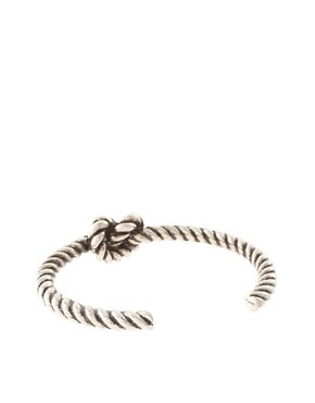 Image 2 ofCheap Monday Exclusive To ASOS Knot Bracelet
