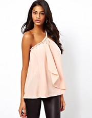 ASOS Cami With Twisted One Shoulder